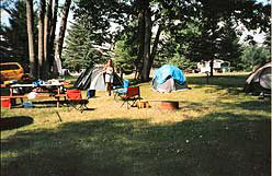 Camp site lots available at our resort